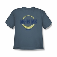 Moon Pie Shirt Kids Moon Me Slate T-Shirt