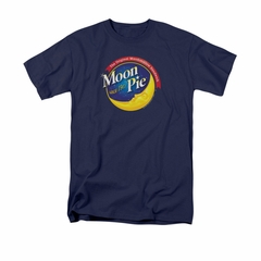 Moon Pie Shirt Logo Navy T-Shirt