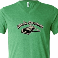 More Cowbell Mens Funny Shirts