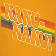 Mork & Mindy Nanu Rainbow Shirts