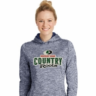 Mossy Oak Country Roots Ladies Moisture Wicking Hoodie