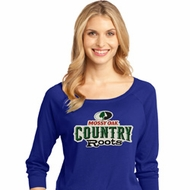 Mossy Oak Country Roots Ladies Three Quarter Sleeve