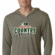 Mossy Oak Country Roots Lightweight Hoodie Shirt