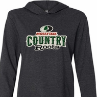 Mossy Oak Country Roots Lightweight Hoodie Tee