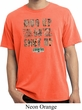 Mossy Oak Mud Up or Shut Up Pigment Dyed Shirt