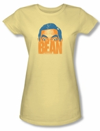 Mr. Bean Juniors Shirt Bean Banana Tee T-Shirt