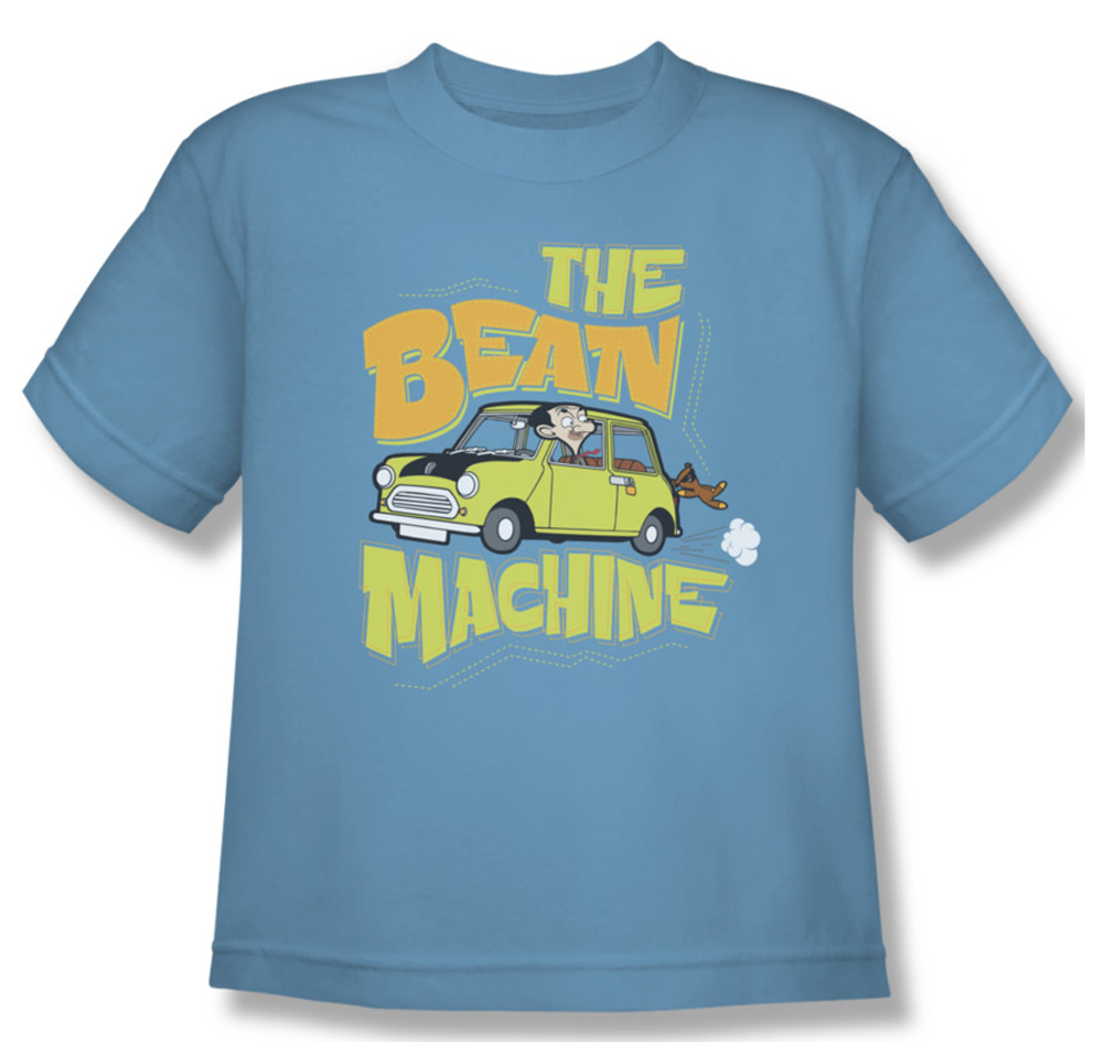 mr bean kids shirt machine carolina blue youth tee t shirt mr bean machine shirts. Black Bedroom Furniture Sets. Home Design Ideas