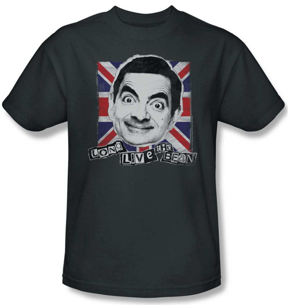 mr bean shirt long live adult charcoal tee t shirt mr bean long live shirts. Black Bedroom Furniture Sets. Home Design Ideas