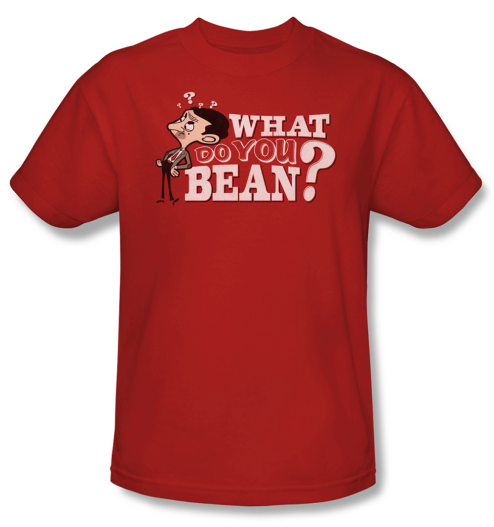 mr bean shirt what you bean adult red tee t shirt mr bean what you bean shirts. Black Bedroom Furniture Sets. Home Design Ideas