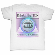 Mr. Mister Rogers Shirt Imagination White T-Shirt