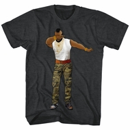 Mr. T Shirt Dabbin' Heather Charcoal T-Shirt
