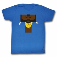 Mr. T Shirt Literal T Royal Blue T-Shirt