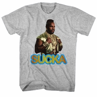 Mr. T Shirt Sucka Athletic Heather T-Shirt