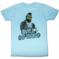 Mr. T T-shirt CrayCray Adult Heather Blue Tee Shirt