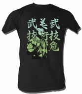 Mr. T T-Shirt Japanese A-Team Adult Black Tee Shirt
