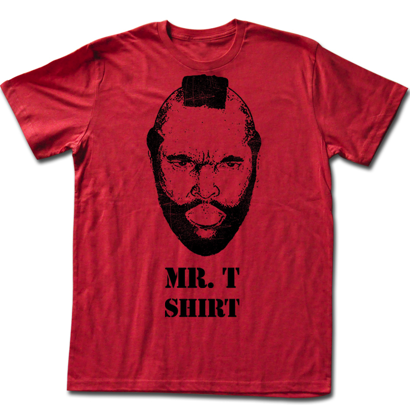 mr t t shirt mr t shirt adult red tee shirt mr t shirts. Black Bedroom Furniture Sets. Home Design Ideas