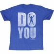 Muhammad Ali Shirt Do You Adult Blue Heather Tee T-Shirt