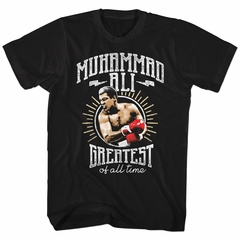 Muhammad Ali Shirt Of All Time Black T-Shirt