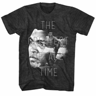 Muhammad Ali Shirt The Greatest Of All Time Charcoal T-Shirt