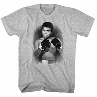 Muhammad Ali Shirt The Legend Athletic Heather T-Shirt