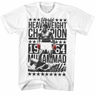 Muhammad Ali Shirt World Heavyweight Champion 1964 White T-Shirt