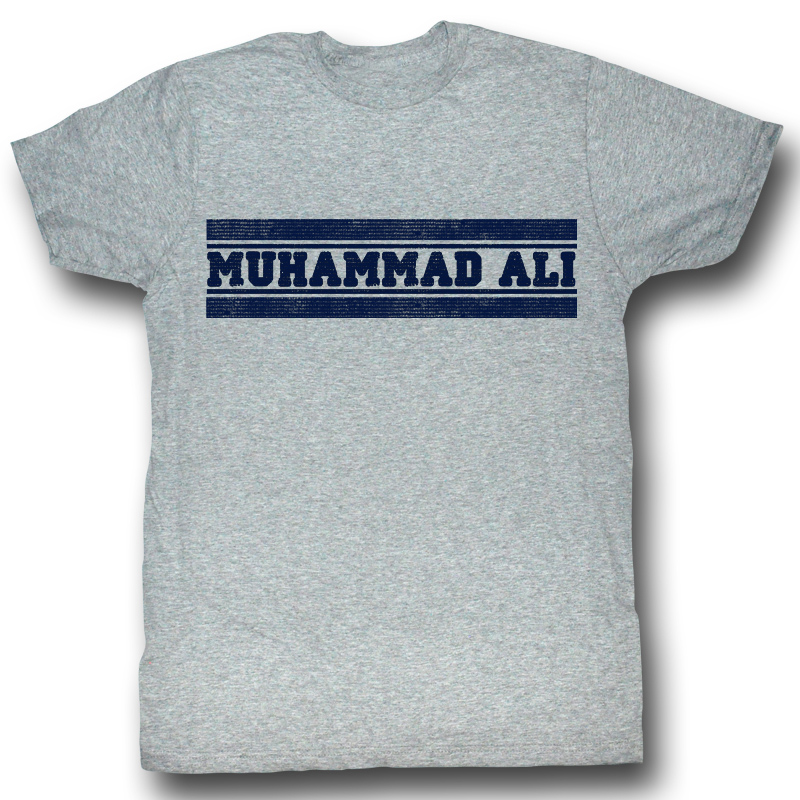 All Star Automotive >> Muhammad Ali T-shirt ALI Gym Adult Heather Grey Tee Shirt - Muhammad Ali Shirts