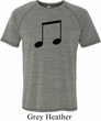 Music 8th Note Mens Tri Blend Shirt