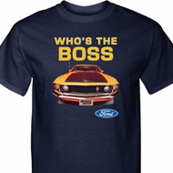 Mustang Who's The Boss Mens Ford Shirts