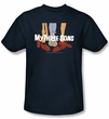 My Three Sons Navy Kids T-Shirt
