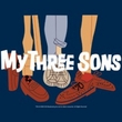My Three Sons Navy T-Shirt