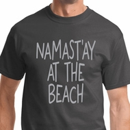 Namast'ay at the Beach Mens Yoga Shirts