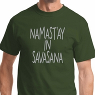 Namast'ay in Savasana Mens Yoga Shirts