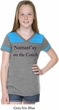 Namastay Home on the Couch Girls Football Shirt