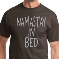 Namastay In Bed Mens Yoga Shirts