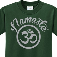 Namaste Om Kids Yoga Shirts