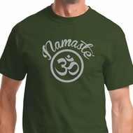 Namaste Om Mens Yoga Shirts