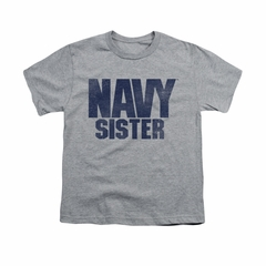Navy Shirt Kids Navy Sister Athletic Heather T-Shirt