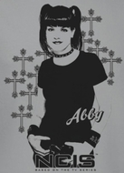 NCIS Abby Crosses Shirt
