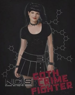 NCIS Goth Crime Fighter Shirt