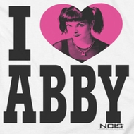 NCIS I Heart Abby Shirts