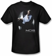 NCIS Kids T-shirt - Gibbs Ponders TV Series Youth Black Tee Shirt