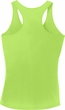 Neon Abyssinian Cat Ladies Dry Wicking Racerback Tank Top