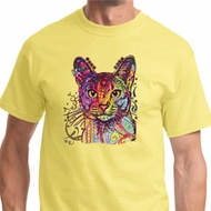 Neon Abyssinian Cat Shirt