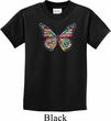 Neon Butterfly Kids Shirt