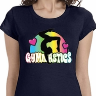 Neon Gymnastics Ladies Gymnast Shirts
