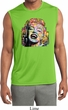 Neon Marilyn Monroe Mens Sleeveless Moisture Wicking Shirt