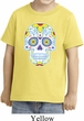 Neon Sugar Skull Toddler Shirt