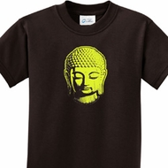 Neon Yellow Buddha Kids Yoga Shirts