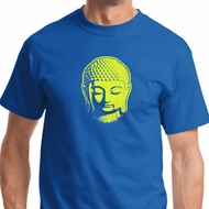 Neon Yellow Buddha Mens Yoga Shirts