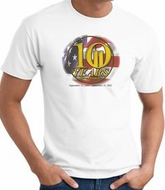 Never Forget T-Shirts 10 Years Anniversary Twin Towers Memorial Tees